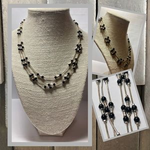 Business Professional Multi-Stand Necklace